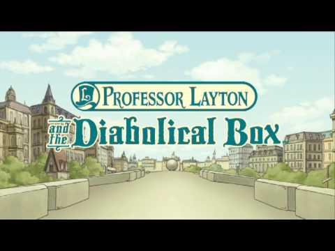 Professor Layton: Diabolical Box  - E3 2009 - DS