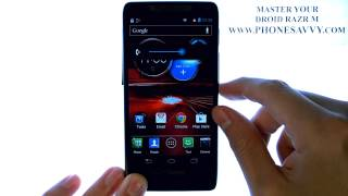 Motorola Droid Razr M - How Do I Change Ringtone Volume - Enable Vibrate and Silent Mode.AVI