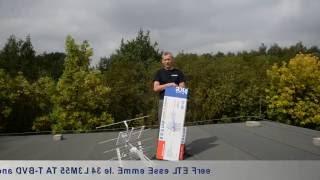 Antena DVB-T do odbioru z pasma VHF oraz UHF, model AT 55M3L Montaż i zastosowanie