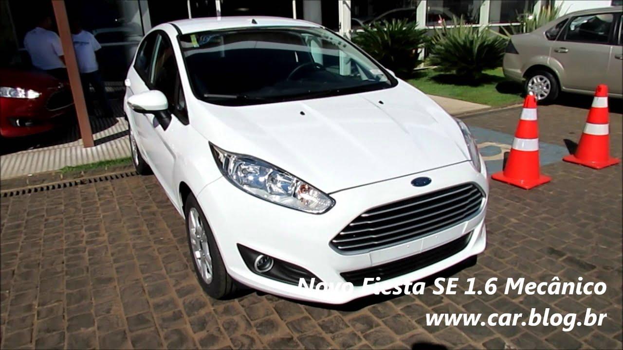 Ford Fiesta Sedan >> Novo Fiesta 2014 - SE 1.6 AT, SE 1.6 MT e SE 1.5 - www.car ...