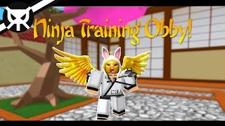 Becoming a NINJA! ▼ Ninja Training Obby ▼