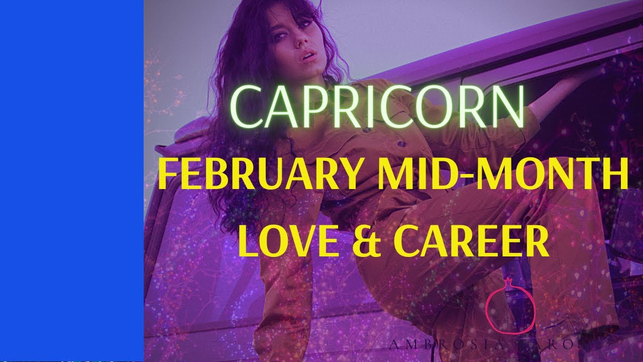 Capricorn Weekly Love Check-ins