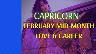 Capricorn Love and Career (Strength in Unity) Mid month tarot  Feb 15-28 2021