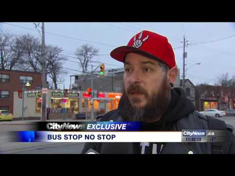 EXCLUSIVE: Man upset after TTC bus driver repeatedly fails to service stop