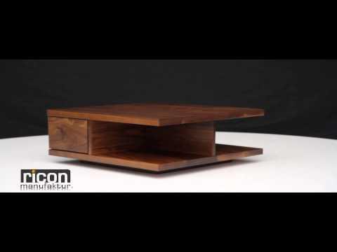 Couchtisch Massivholz Modell Pisa
