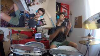 Cake By The Ocean - DNCE - Bass & Drum Cover Mp3