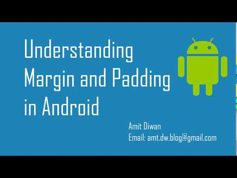 How to use Margin and Padding in Android (Margin vs  Padding) - YouTube