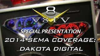 Dakota Digital Dashes And Components at SEMA 2014 V8TV Video