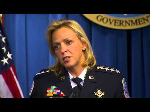Metropolitan Police body camera press conference with D.C. Mayor Vincent Gray and Chief Cathy Lanier