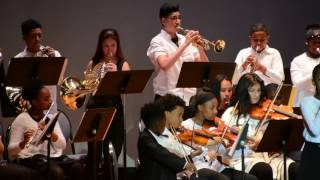 """The Dudamel Orchestra feat. Jazmine 