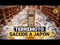 TERREMOTO EN JAPÓN 2021: impactantes imágenes del sismo de 7,3 de magnitud en Fukushima