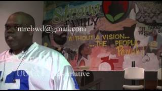 UUAA Meeting - Gerry Monroe Speaks Out on HISD School Closings in Black Community
