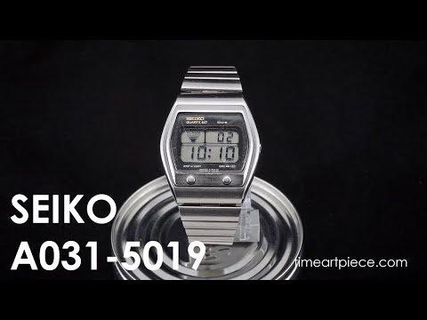 1807235f8 Seiko A031-5019 | Time Art Piece