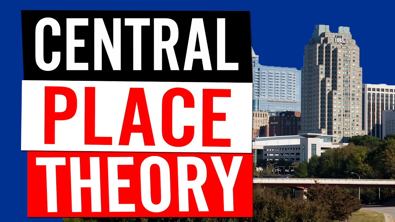 central place theory ap human geography