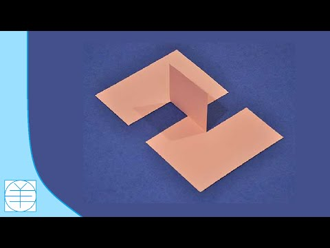 Thumbnail: How to Make The 'Impossible Paper' Illusion. (Instructions) (Full HD)