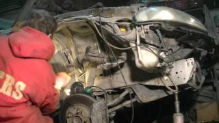 ремонт гнилого Nissan Skyline ER33 часть 6