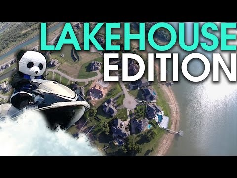 Dude Perfect Nerf Blasters Lake House Edition BONUS Video