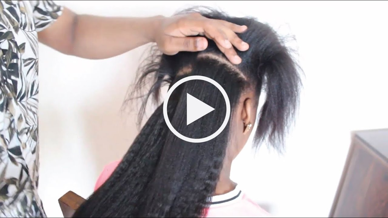 How To Install Clip Ins On Relaxed And Natural Hair Knappy Hair