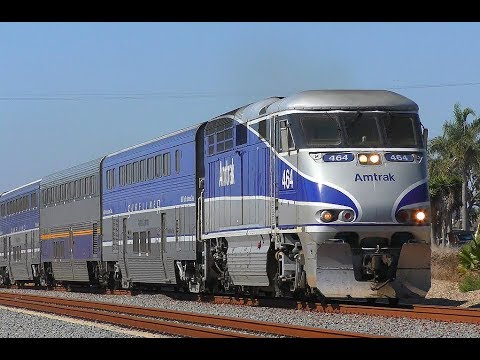 6K Sub Special - Trains on the Pacific Surfliner