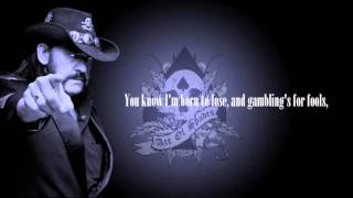 Ace of Spades - Motörhead (Lyrics)