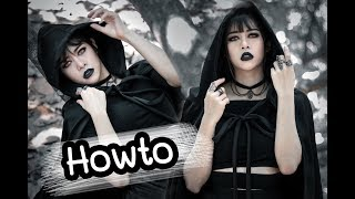 Howto Black Vampire Girl