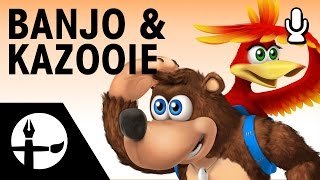 Banjo & Kazooie Smashified - Speed Painting (Commentary feat. Nathanael Platier)