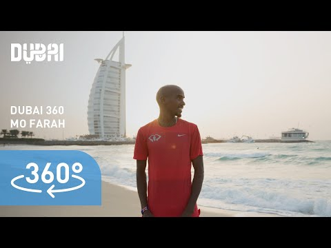 (4K) 360 Mo Farah in Dubai: