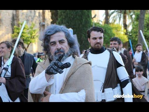Los soldados de Star Wars invaden el casco histórico de Córdoba