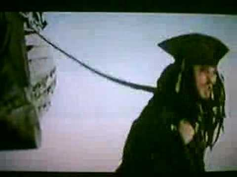 Jack Sparrow in Davy Jones' Locker
