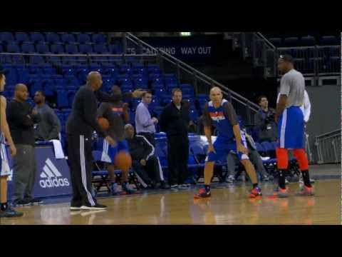 NBA London All-Access: Pistons vs Knicks