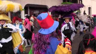 Presentacion Carnaval Papalotla 2014 Cuadrilla San Marcos Contla Parte 2