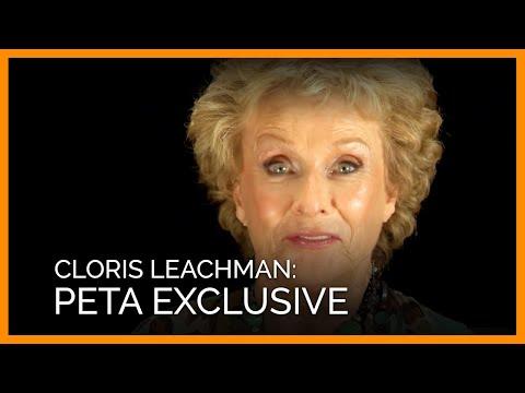 Cloris Leachman Interview for PETA