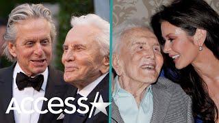 Michael Douglas And Catherine Zeta-Jones Honor 'Living Legend' Kirk Douglas On His 103rd Birthday