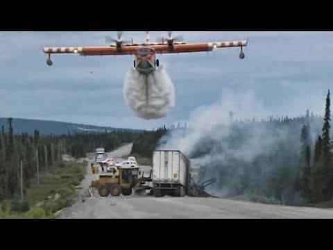 Смотреть Самые крутые пожарные самолеты мира онлайн
