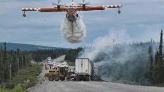 Самые крутые пожарные самолеты мира