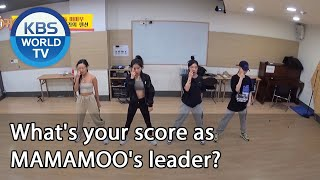 What's your score as MAMAMOO's leader? [Boss in the Mirror/ENG/2020.12.03]