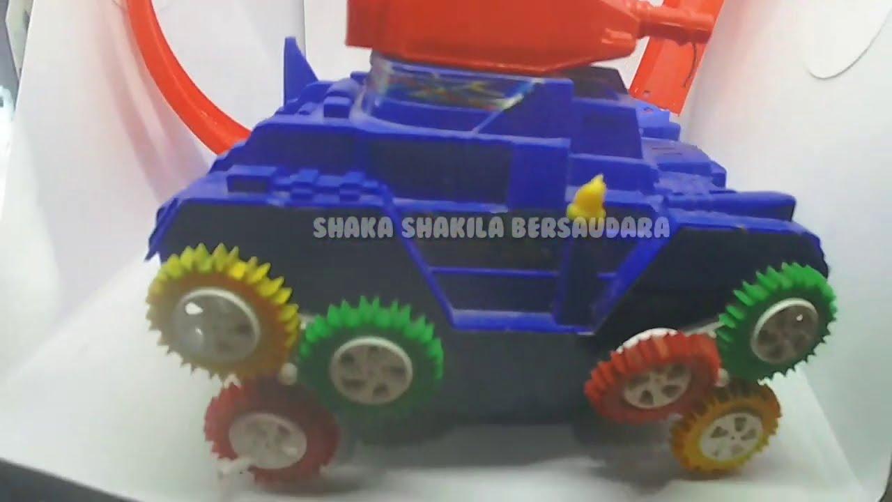 Permainan Terbaru Mainan Anak Let's Play | mobil tank mobil Mobilan perang mainan anak anak