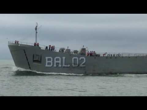ARM Libertador BAL 02 Buque de Apoyo Logístico de la Armada de México en el Río Pánuco, Tampico