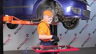 Videoanleitungen: Wie Bremsbelagsatz Scheibenbremse wechseln FORD FIESTA V (JH_, JD_)