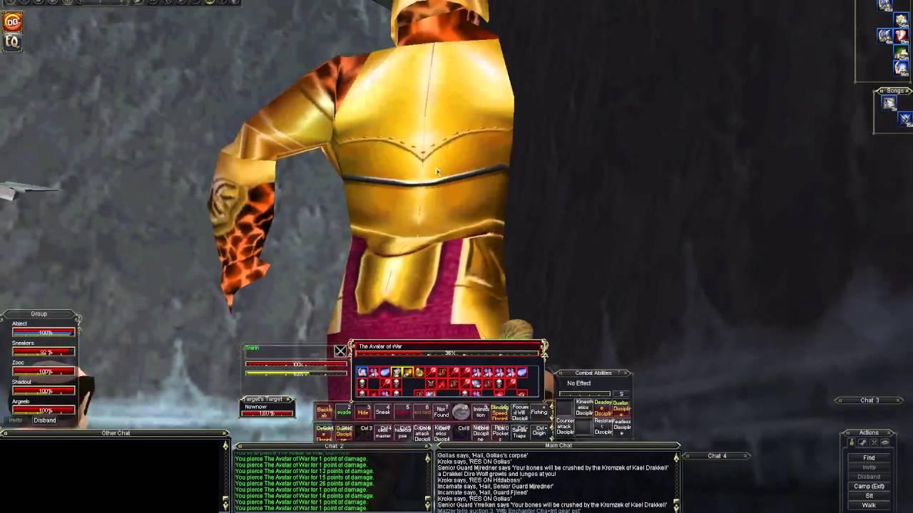 Darkwind Killing Avatar of War (server 1st)