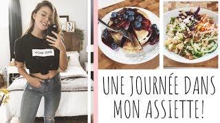 UNE JOURNÉE DANS MON ASSIETTE #2 | Laura Glam'More