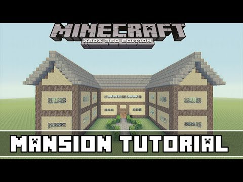 Minecraft Xbox 360- Easy Mansion Tutorial