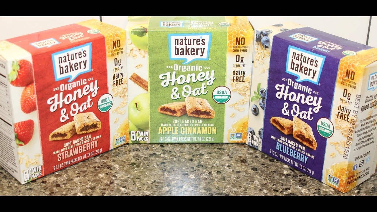 Nature S Bakery Organic Honey And Oat Soft Baked Bars