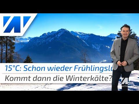 Erst 15°C, Dann Winter-Hammer Zum Monatsende? Wir Schauen Beim Wetter Auf Die Zweite Januarhälfte!