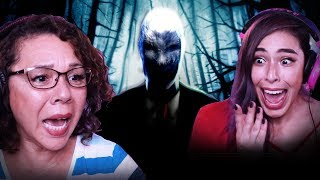 Playing SLENDER with my MOM!