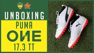 Vai rolar review com a chuteira puma one 17.3 tt (society) - unboxing
