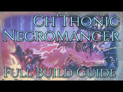 Grim Dawn Build Guide // The Ch'thonic Necromancer [Pyromancer Hybrid Pet Build]