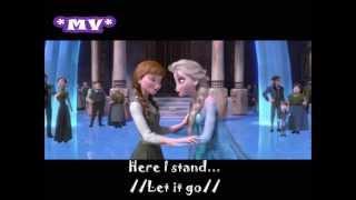 Frozen- Let it go Demi Lovato (Lyrics)