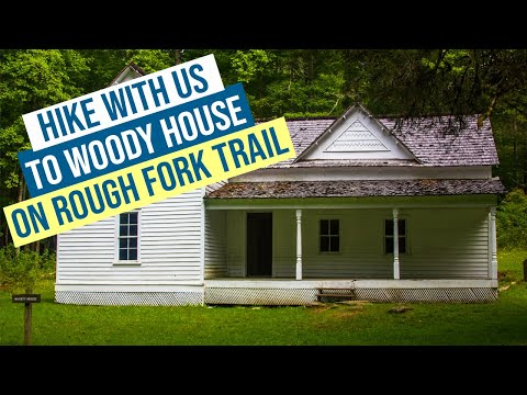 Rough Fork Trail to Woody House in Cataloochee Valley - Great Smoky Mountains National Park