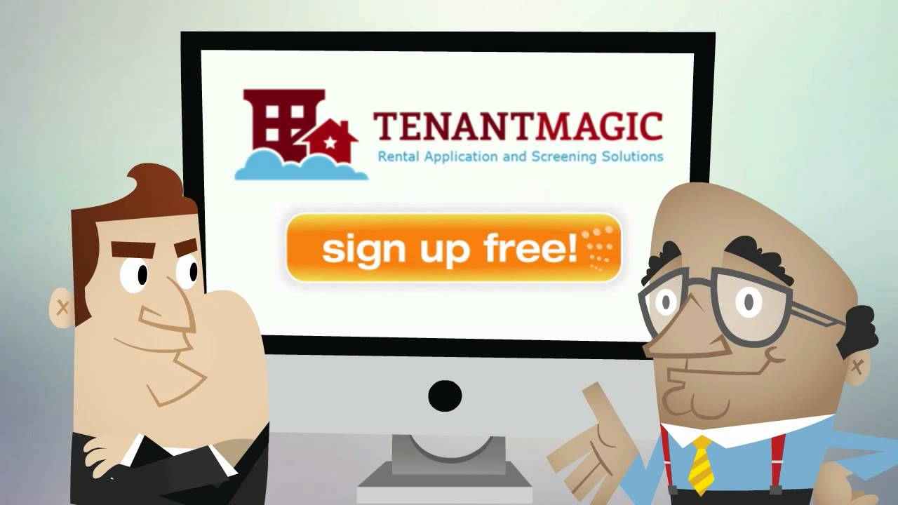 Tenantmagic - Rental Applications And Background Screening - Quick, Easy,  Free